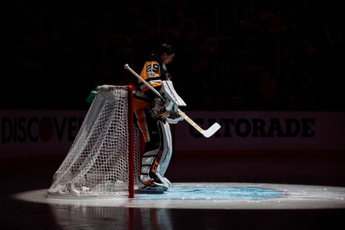 Marc-Andre Fleury Now Under The Spotlight