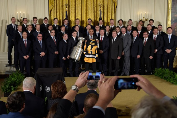 The Penguins And The White House