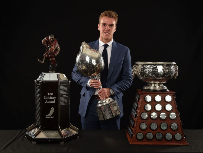 Early NHL Award Winners