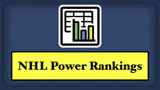 NHL Power Rankings – November