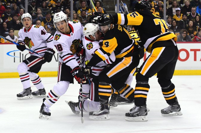 The Pittsburgh Penguins' Atrocious History with Chicago